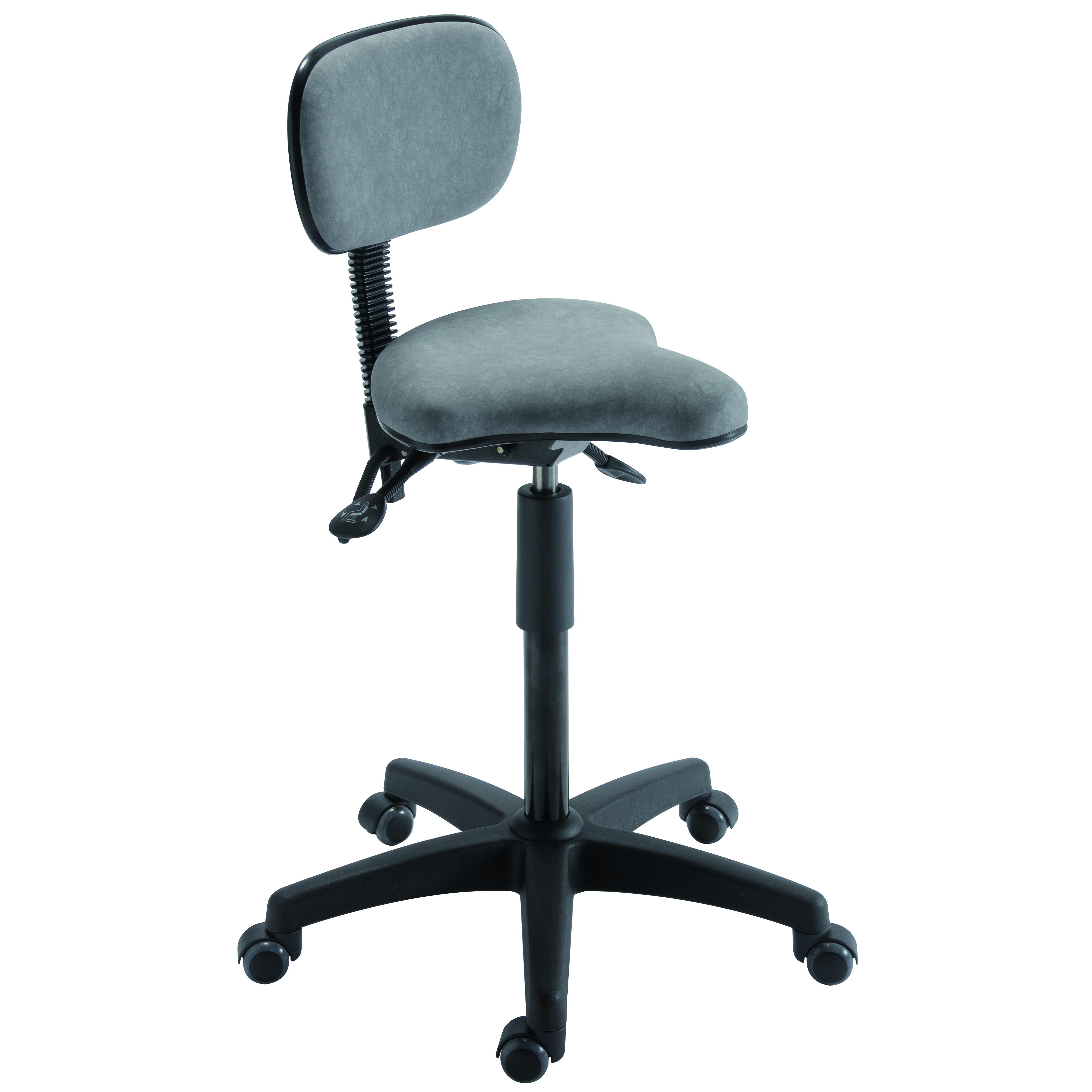 Assis-debout ARENDAL de siegepro assise suspendue ajustable en angulation et hauteur