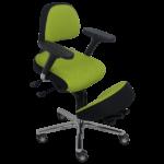 Assis à genoux BRIANCON de siegepro.com avec assise inclinée et dossier ergonomique