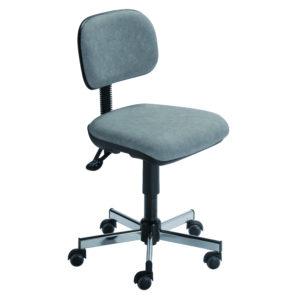 Siège ergonomique de travail CHAMONIX de siegepro asynchrone assise galbée arrondie à l'avant