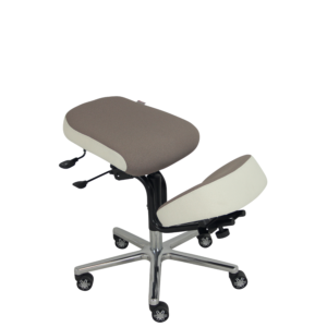 Assis à genoux-tibias BLOIS de siegepro.com avec assise inclinable et translation d'assise