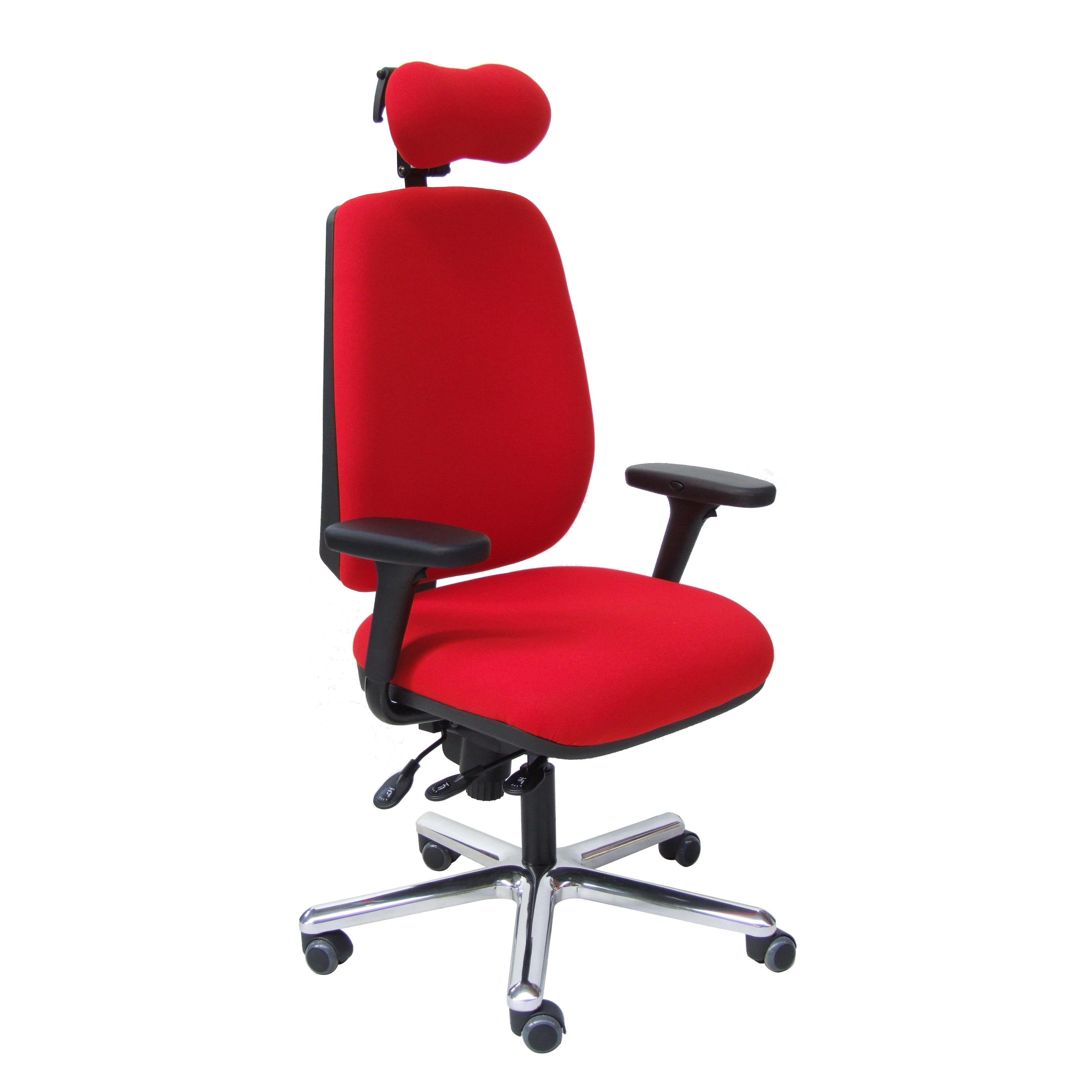 Fauteuil de bureau ergonomique NORFOLK assise large asynchrone CP+T avec appui-nuque