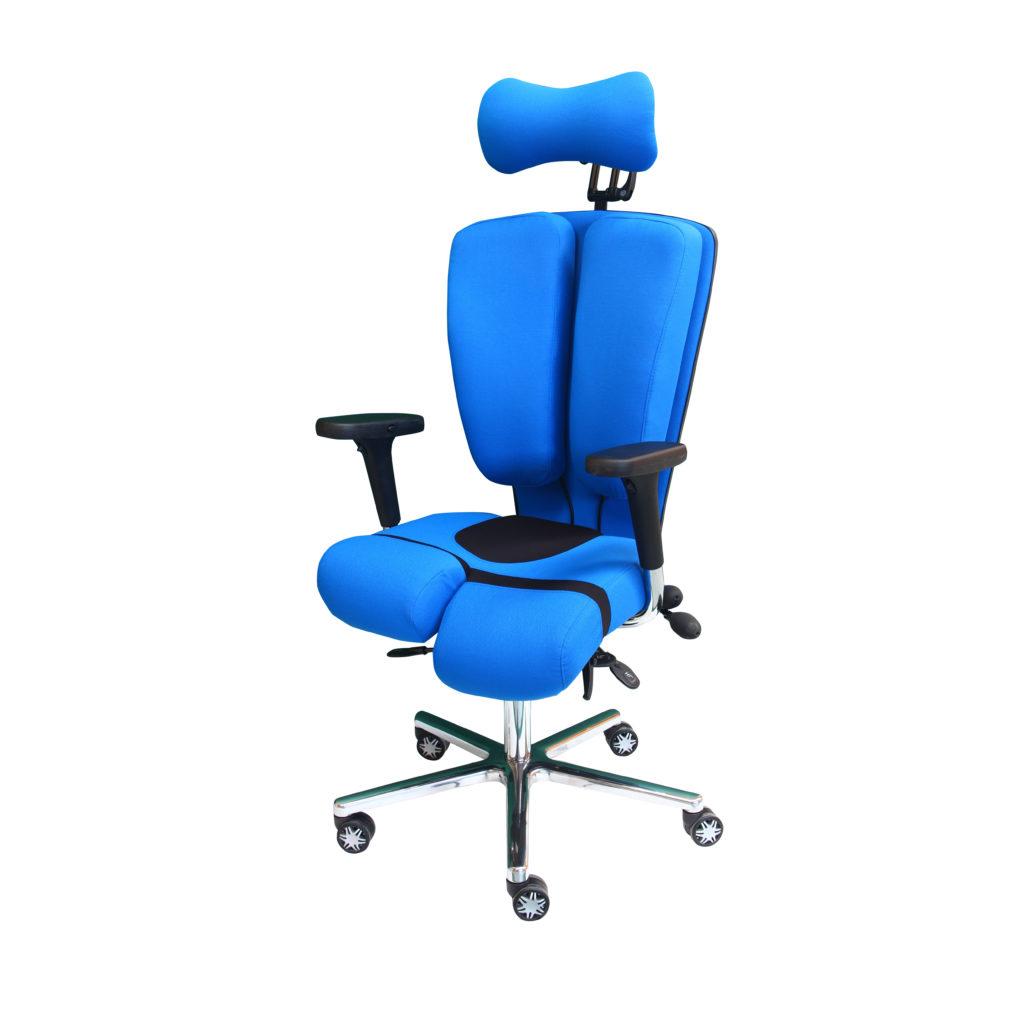 Le fauteuil evironnement médical ARTHRODESIO de siegepro.com avec appui-nuque
