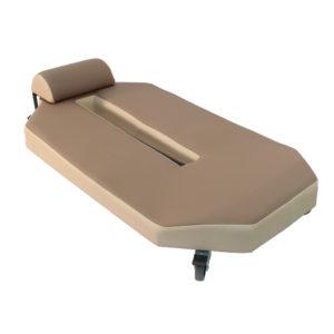 Chariot de garagiste ergonomique SOLNA de siegepro pour travaux au sol en position allongée
