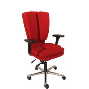 Fauteuil avec assise et dossier dynamiques et flexibles MOSAIQUE de siegepro.com