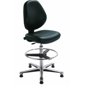 siège haut ATLANTA antistatique CP de siegepro.com avec repose-pieds circulaire