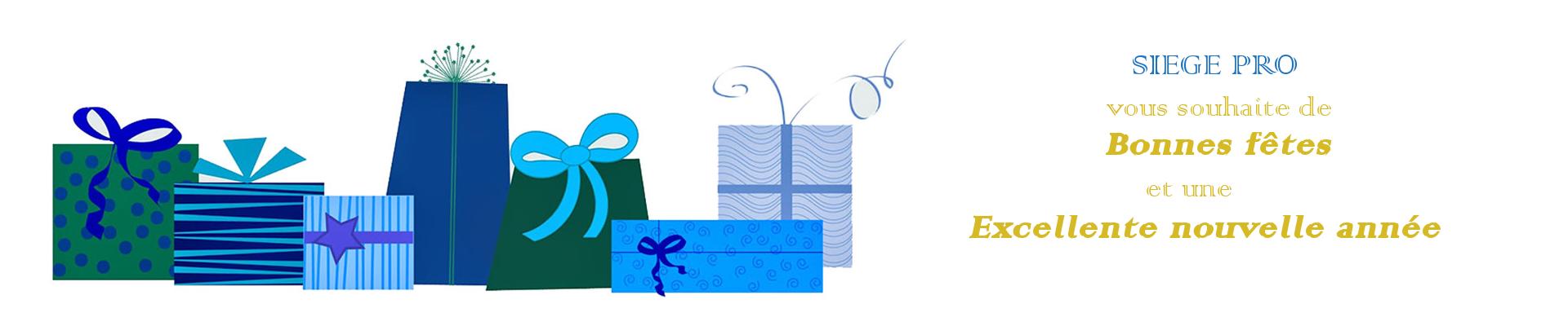 Bonnes fêtes de fin d'année de siegepro.com